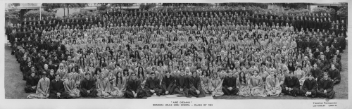 Granada Hills High School Class of Summer, 1969 - Click on image for enlarged version